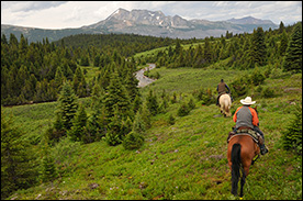 High Country Vacations Trail Rides